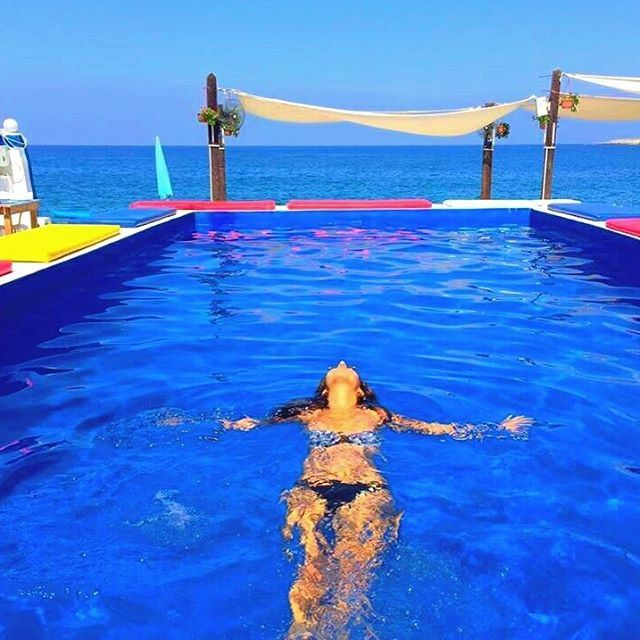 COME INTO MY COLORFUL WORLD 🌈  Anfeh  Lebanon  Paradise  HappyPlace  ... (Chez Fouad)